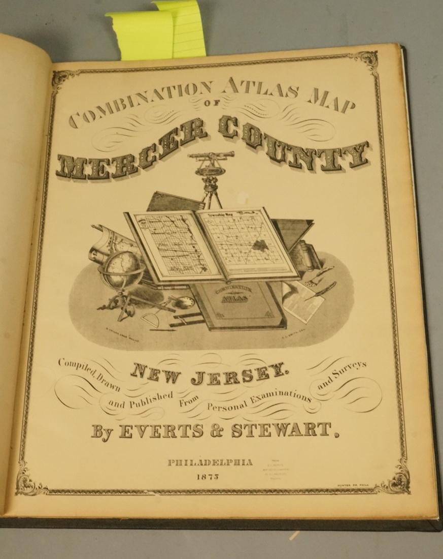 New Historical Atlas of Mercer County New Jersey.