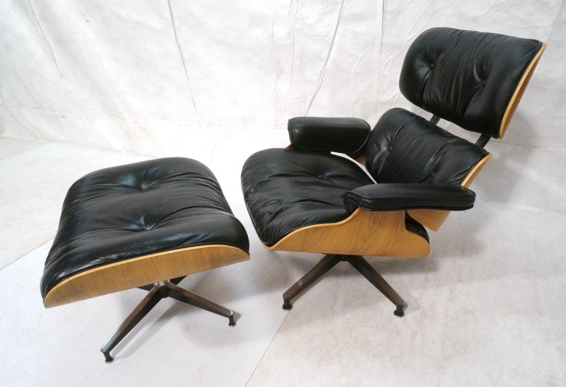 CHARLES EAMES HERMAN MILLER Lounge Chair & Ottoma