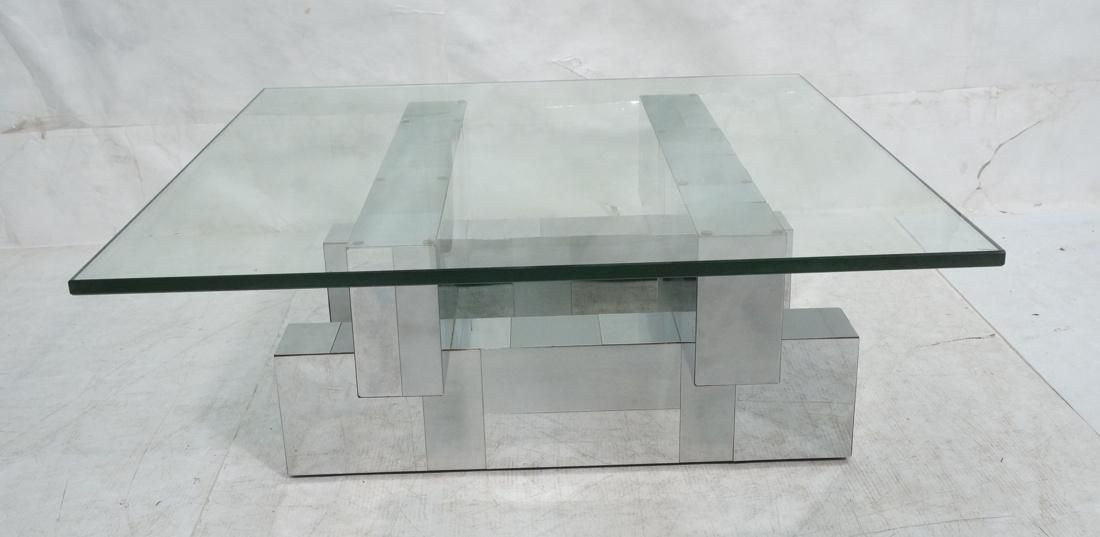 "PAUL EVANS Cityscape Cocktail Table. .75"" Thick g"