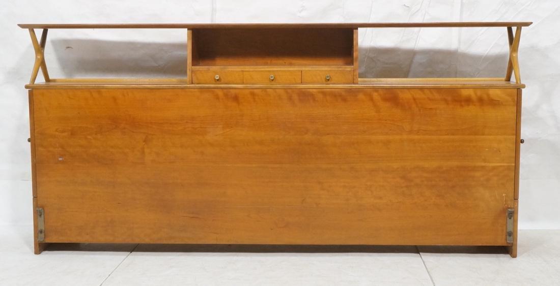 RENZO RUTILI Modern  Headboard Bookcase.