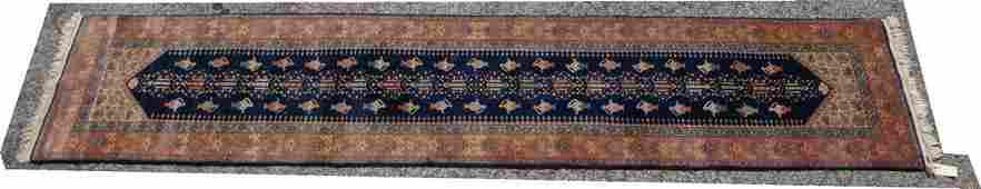 26 x 123 Handmade Oriental Carpet Rug Runner D