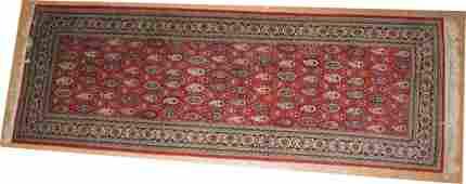 3 x 86 Handmade Oriental Carpet Runner Rug  Rep