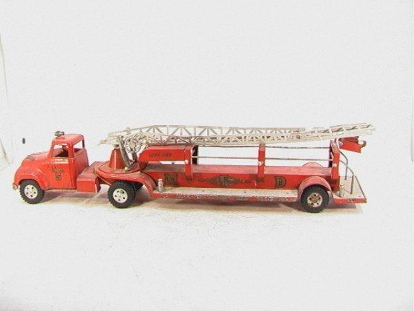 2013: TONKA No5 Fire Truck Life Net MFD VINTAGE.  Large