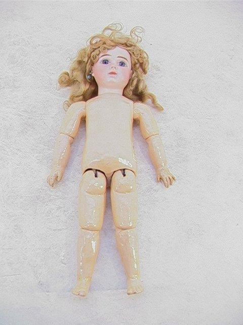 2014: Antique J STEINER PARIS Bisque Doll French, Marke