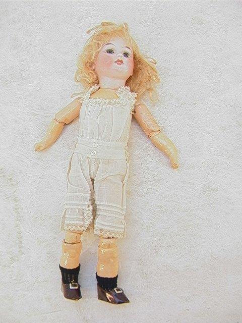 2015: A. M. Bisque Doll ANTIQUE 1894. Armand Marseille