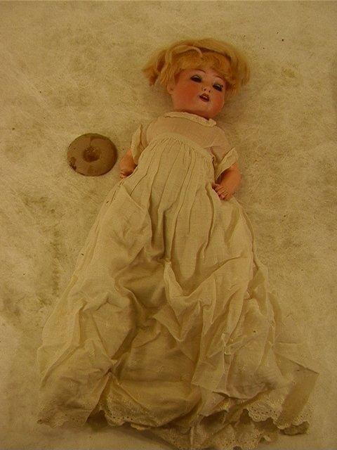 2016: HEUBACH KOPPELSDORF German Bisque Doll 321-7/0. S
