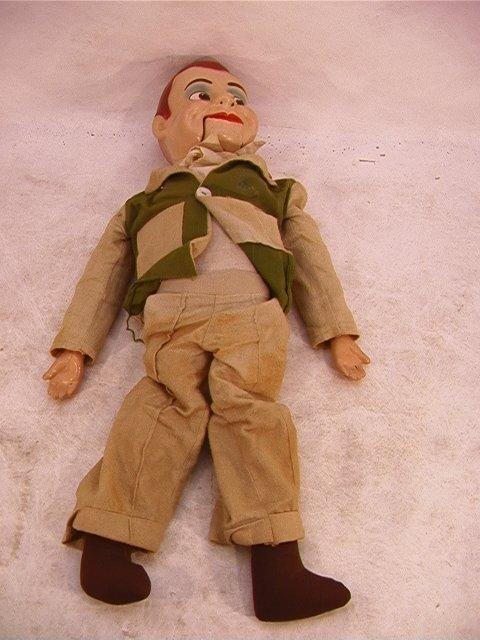 2020: Jerry Mahoney Doll Ventriloquist Dummy Vintage