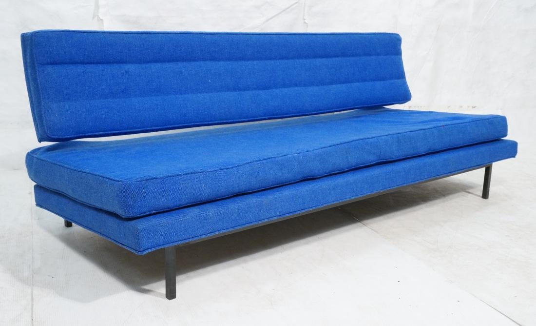 RICHARD SCHULTZ Early Knoll Blue Fabric Sofa Day