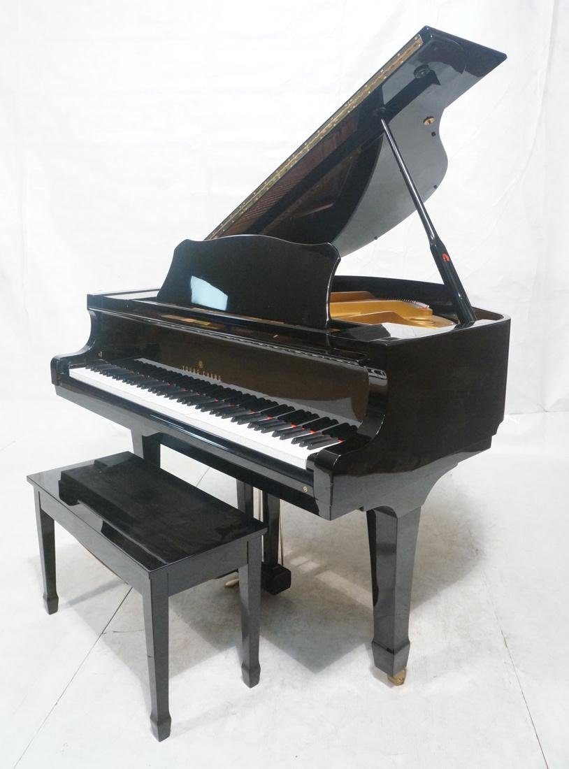 Black Lacquered YOUNG CHANG G-150 Baby Grand Pian