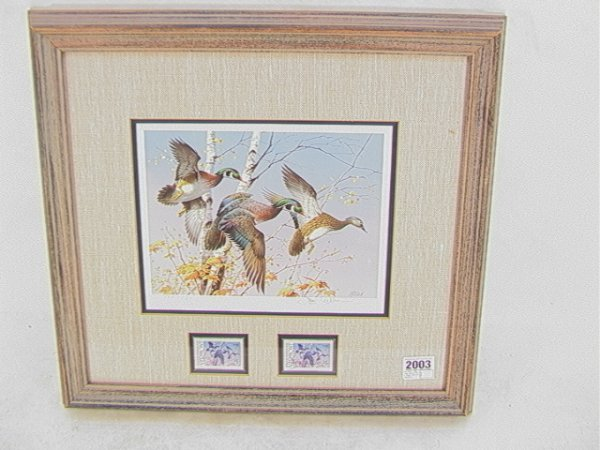 2003: Jim Killen 1986 Duck stamp First of State Vermont
