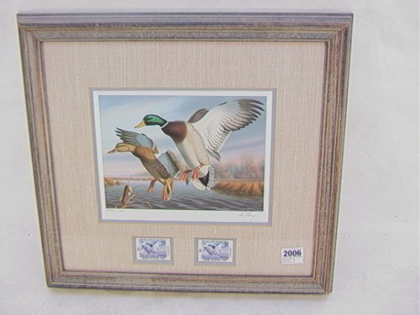 2006: Ronald Louque 1988 Duck stamp First of State Virg