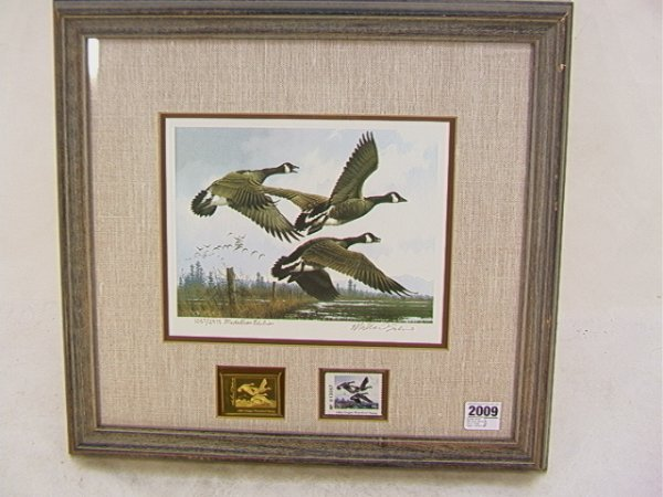 2009: Michael Sieve 1984 Duck stamp First of State Oreg