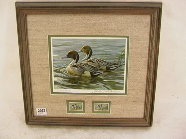2014: Robert Bateman 1988 Duck stamp Canada Conserving