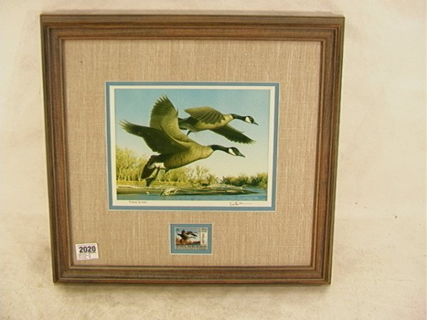 2020: Robert Steiner 1990 Duck stamp First of State Col