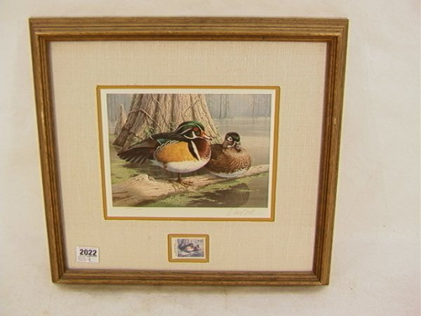 2022: Daniel Smith 1985 Duck stamp Georgia Waterfowl Co