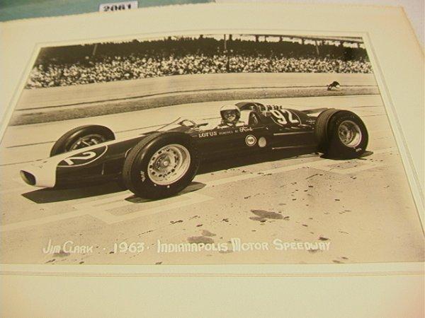 2061: 1963 Indianapolis 500 Photographs. A.J. Foyt, Jim - 3