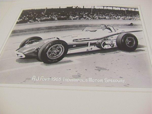 2061: 1963 Indianapolis 500 Photographs. A.J. Foyt, Jim - 5