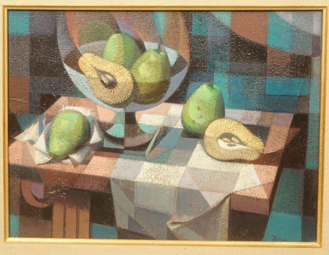 JOHN FOSTER Oil Painting Still Life. Modern paint