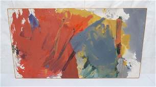 "JOHN NORRIS Lg Modernist Abstract Oil Painting. """
