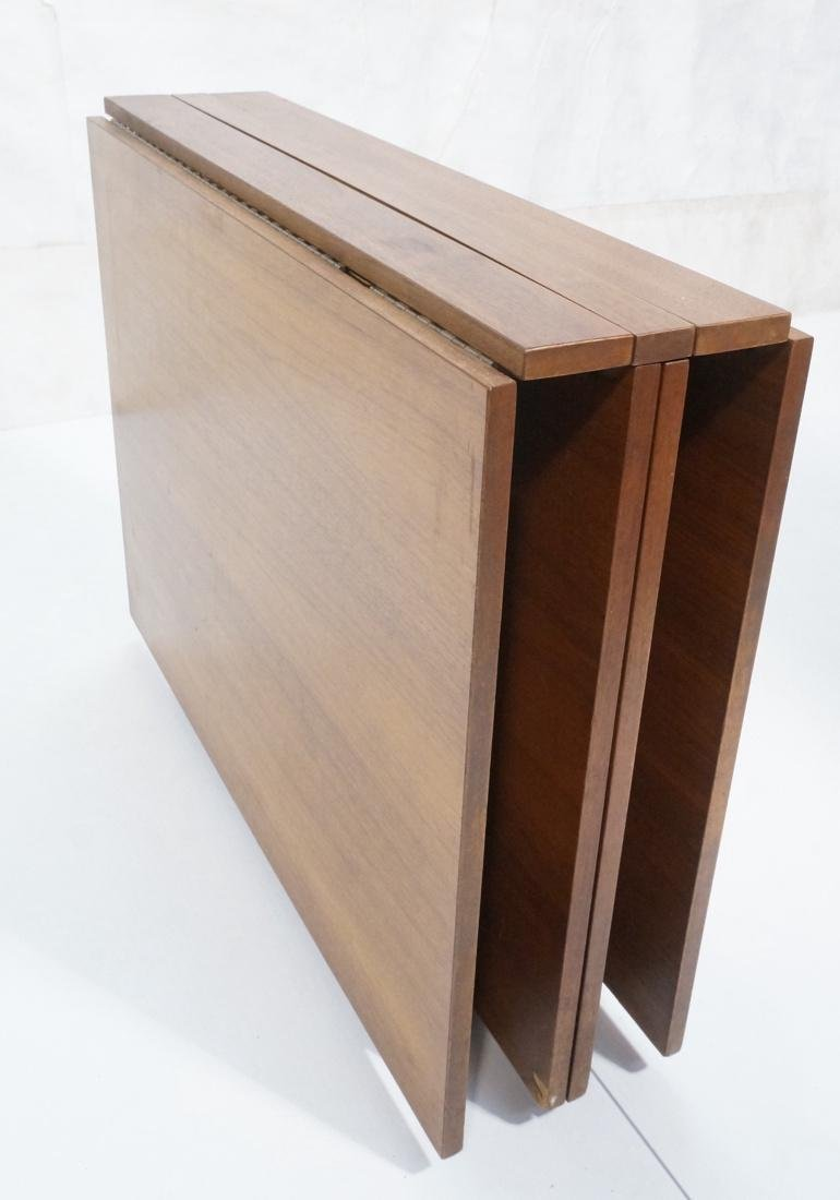 "BRUNO MATHSSON Teak Drop Side ""Maria"" Table. Teak"