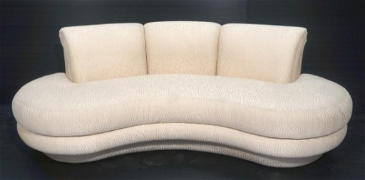 ADRIAN PEARSALL Cloud Form Modern Sofa Couch by C