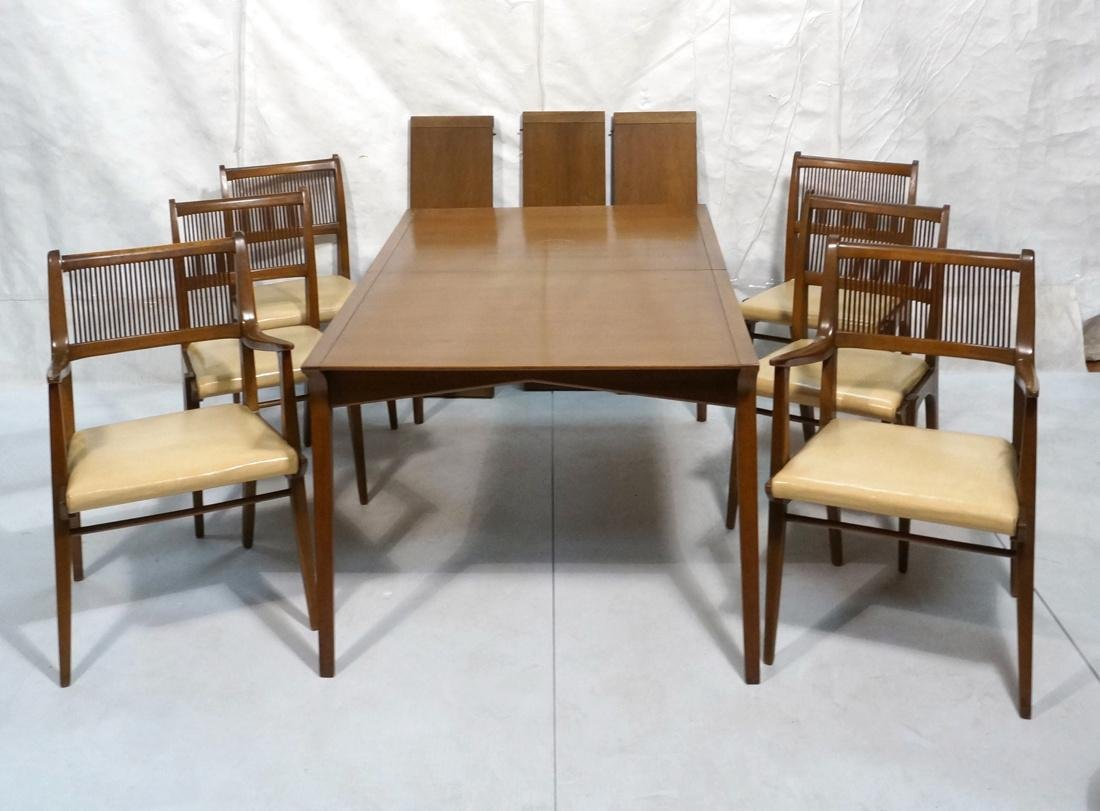 7 pc Dining Set DREXEL Modern Dining Table Chairs