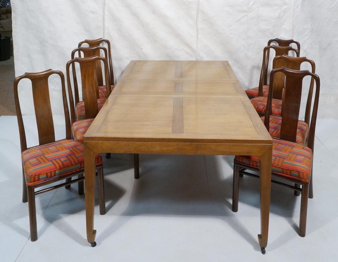Baker Modern 9 pc Dining Set Table & 8 Chairs. As