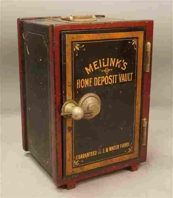 MEILINK'S Home Deposit Vault Miniature Metal Safe