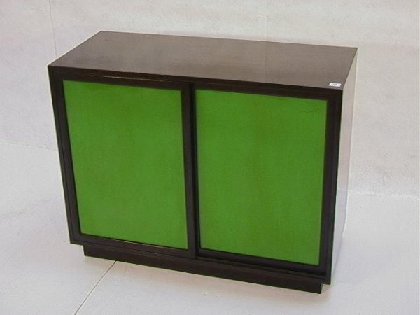 13: Harvey PROBBER Dresser Cabinet Sliding Doors Drawer