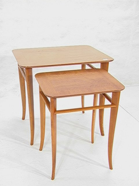 24: WIDDICOMB Th ROBSJOHN GIBBINGS Nesting Side Table 2