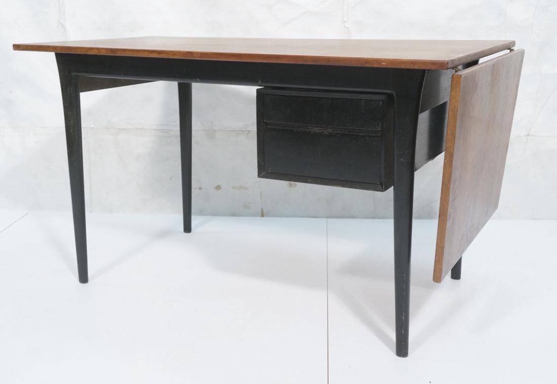 Rosewood ARNE VODDER Modern Desk. Wedge shaped ro