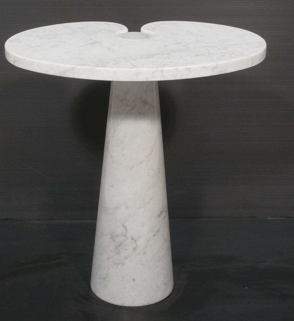 Rare Angelo Mangiarotti Occasional Table.  Eros C