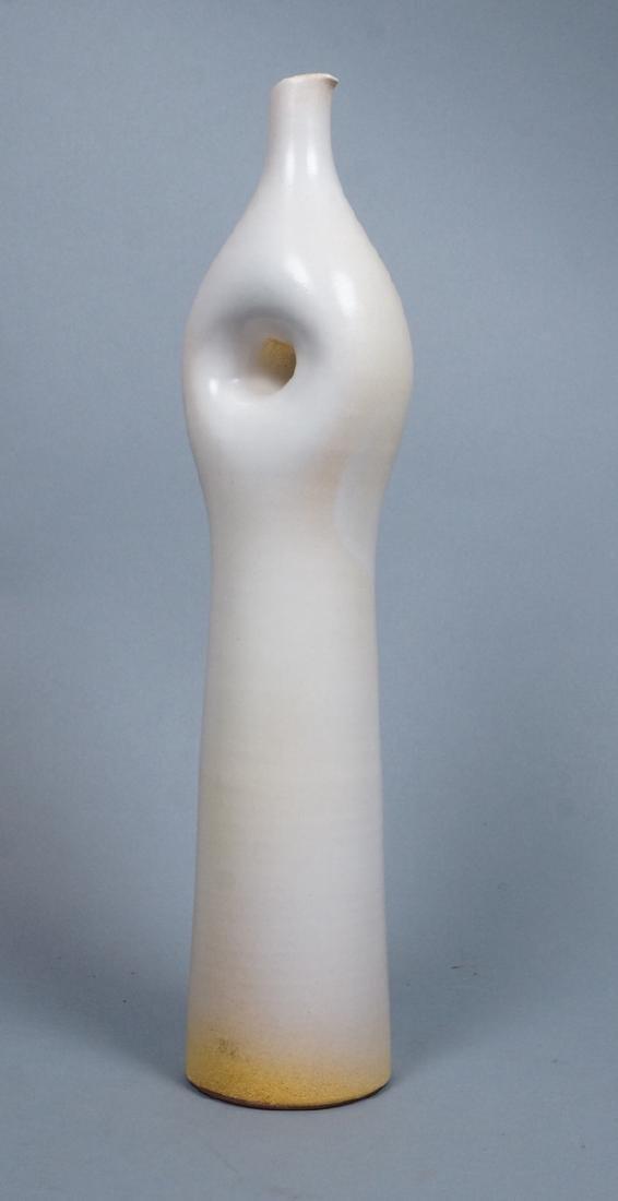 SUZANNE RAMIE Ceramic Tall Vase. MADOURA. Moderni