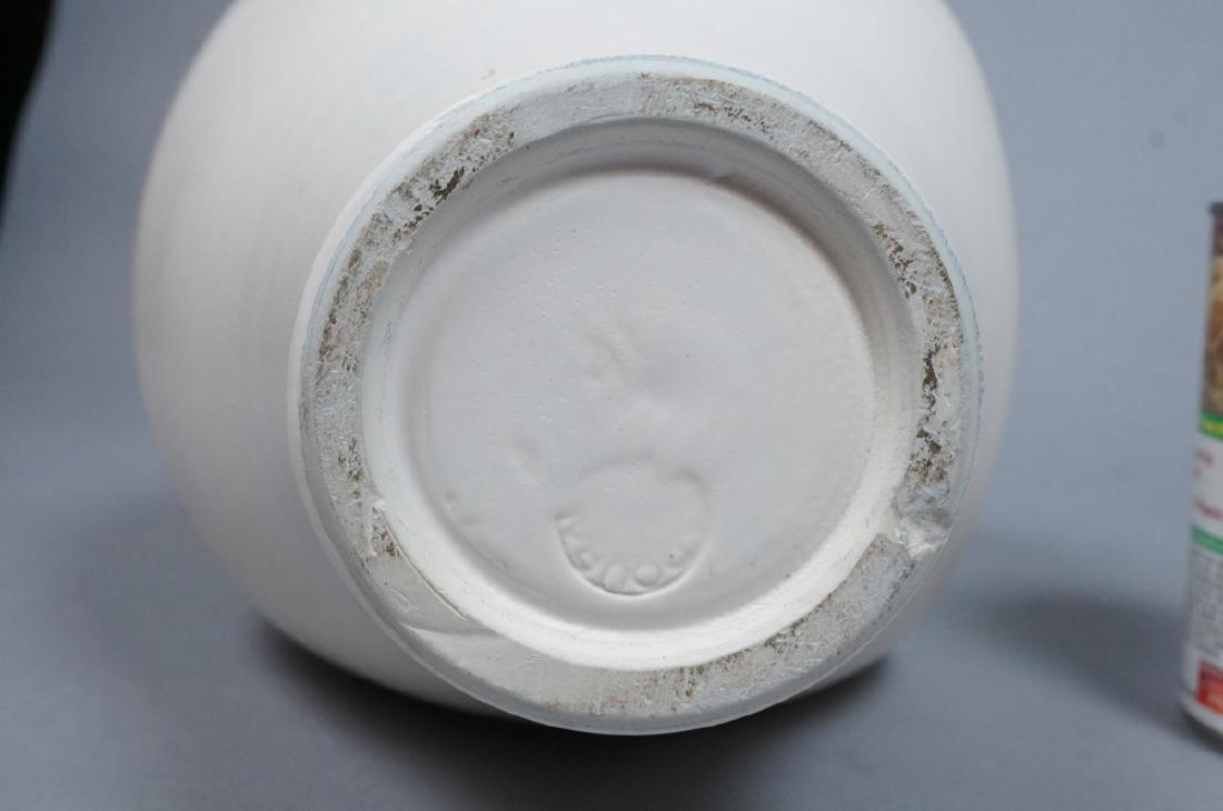 SUZANNE RAMIE Ceramic Tall Pitcher form Vase. MAD - 5