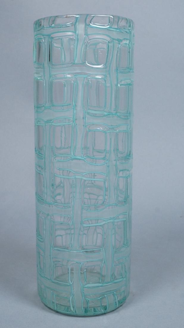 Ercole Barovier Attributed Vase.  Italian Modern