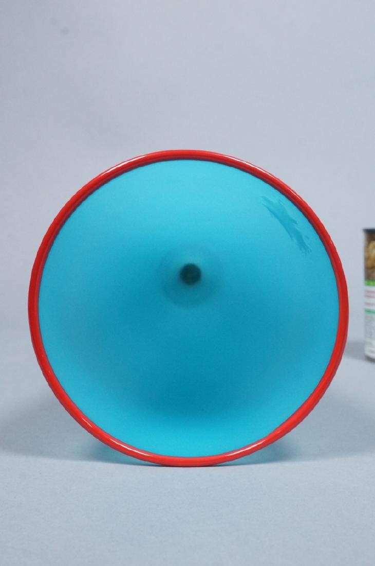 DAVID LEVI for IBEX Modern Art Glass Vase. Americ - 3
