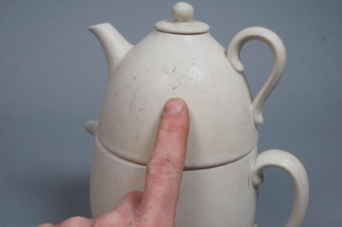 GUNNAR NYLAND for RORSTRAND Stacking Teapot. Smal - 9