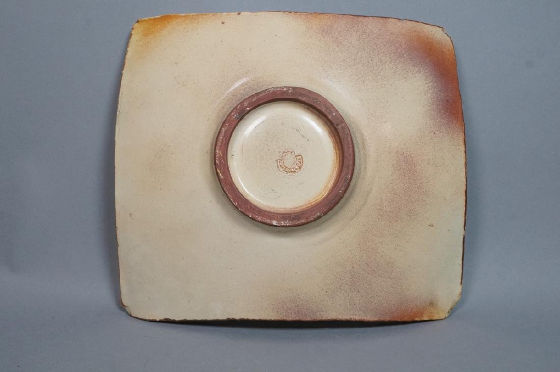 MADOURA Spanish Modern Pottery Center Bowl. Slab - 3