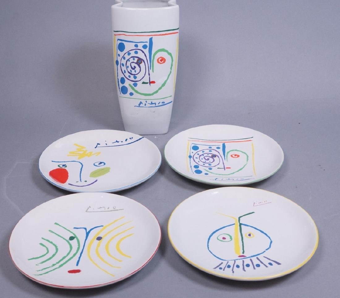 5pc Masterpiece Editions Ltd PICASSO Living Ceram