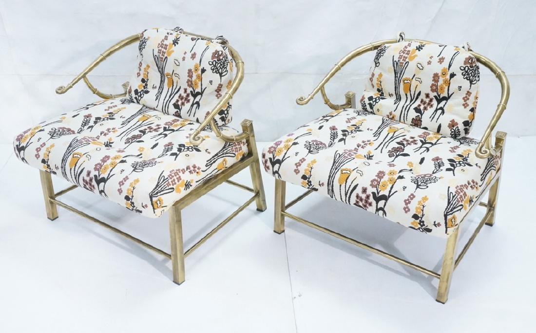 Pr MASTERCRAFT Asian Form Lounge Chairs. Modern b