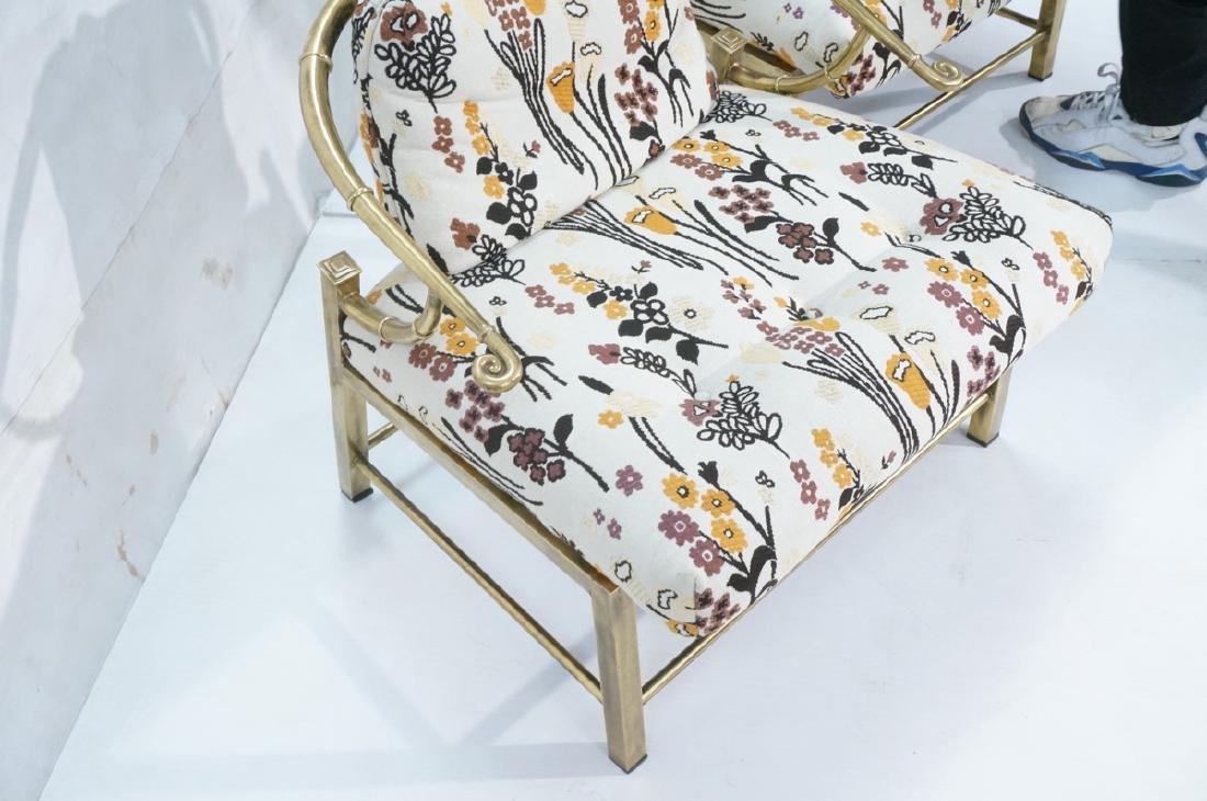 Pr MASTERCRAFT Asian Form Lounge Chairs. Modern b - 5