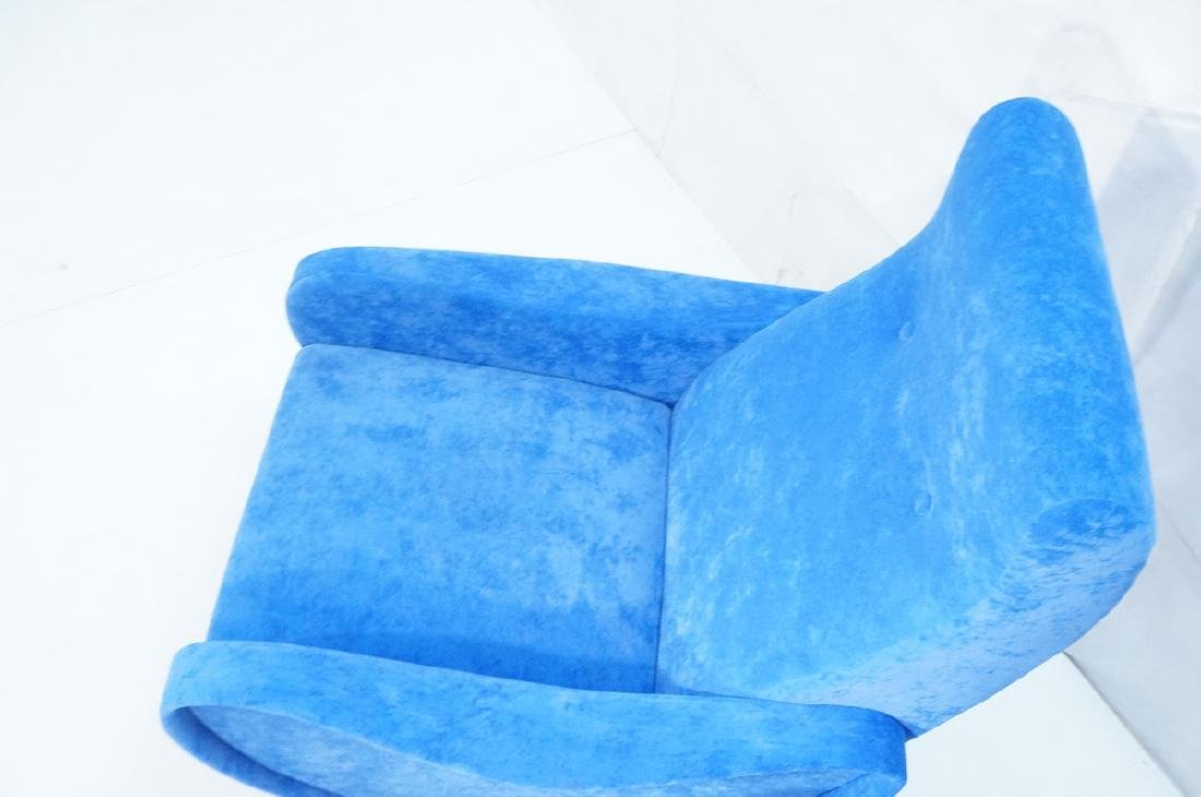 Pr Italian Style Blue Modernist Cloud Chairs. Clo - 3