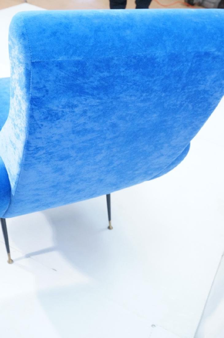 Pr Italian Style Blue Modernist Cloud Chairs. Clo - 6