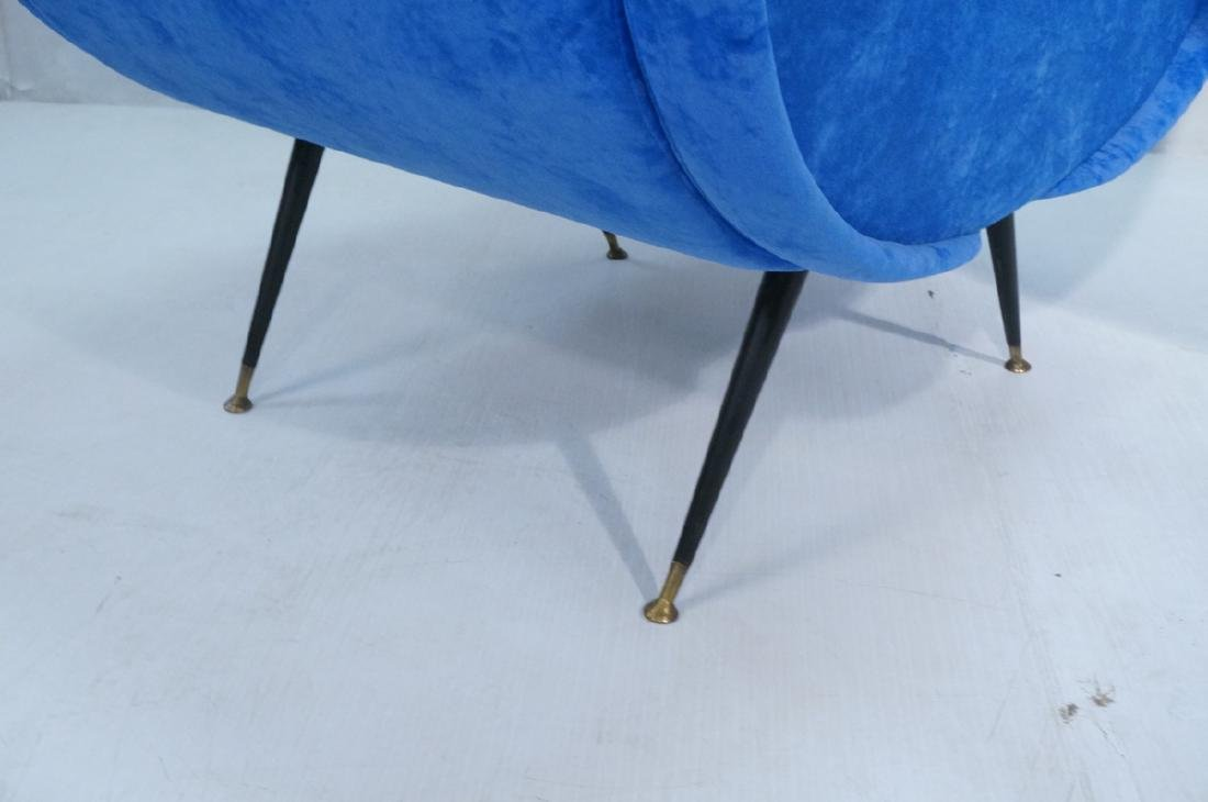 Pr Italian Style Blue Modernist Cloud Chairs. Clo - 9