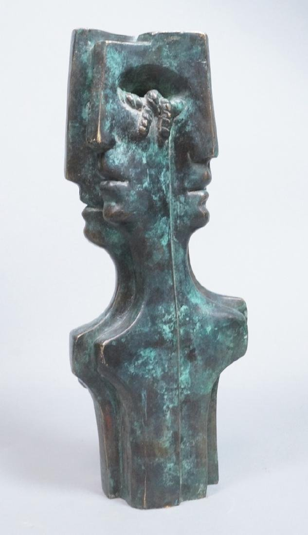 After LEONORA CARRINGTON  Bronze Figural Sculptur