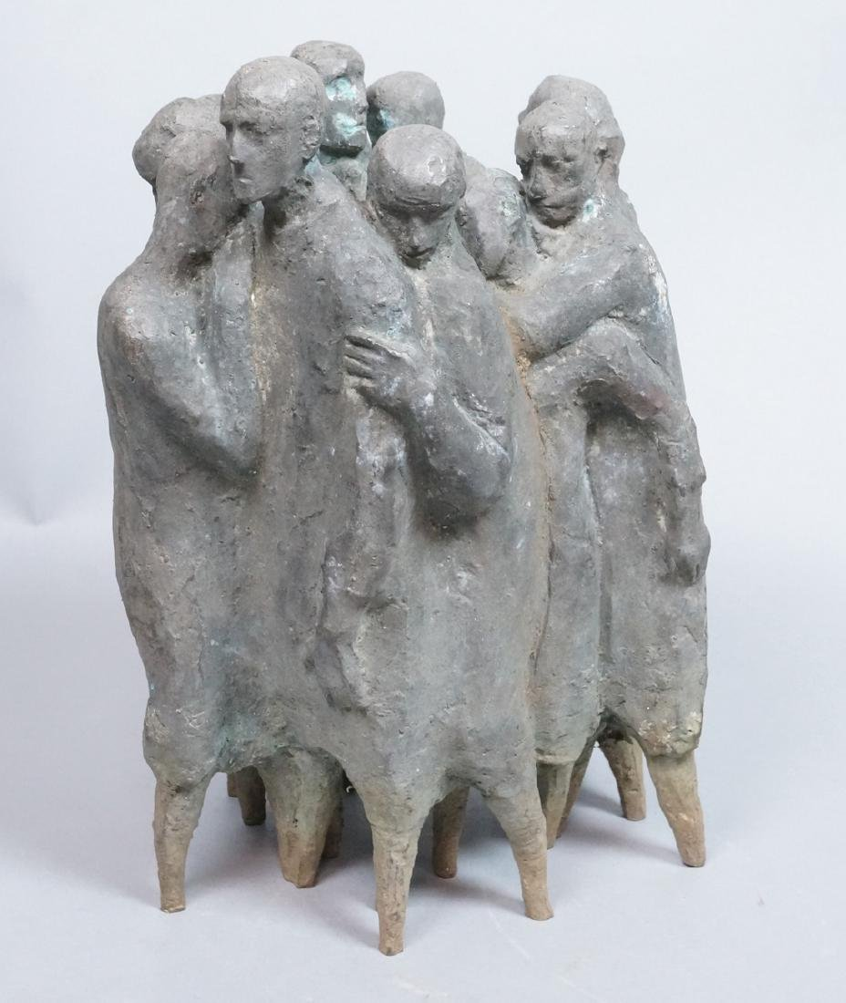 Nat Neujean Bronze Sculpture - Deportation - 2/6