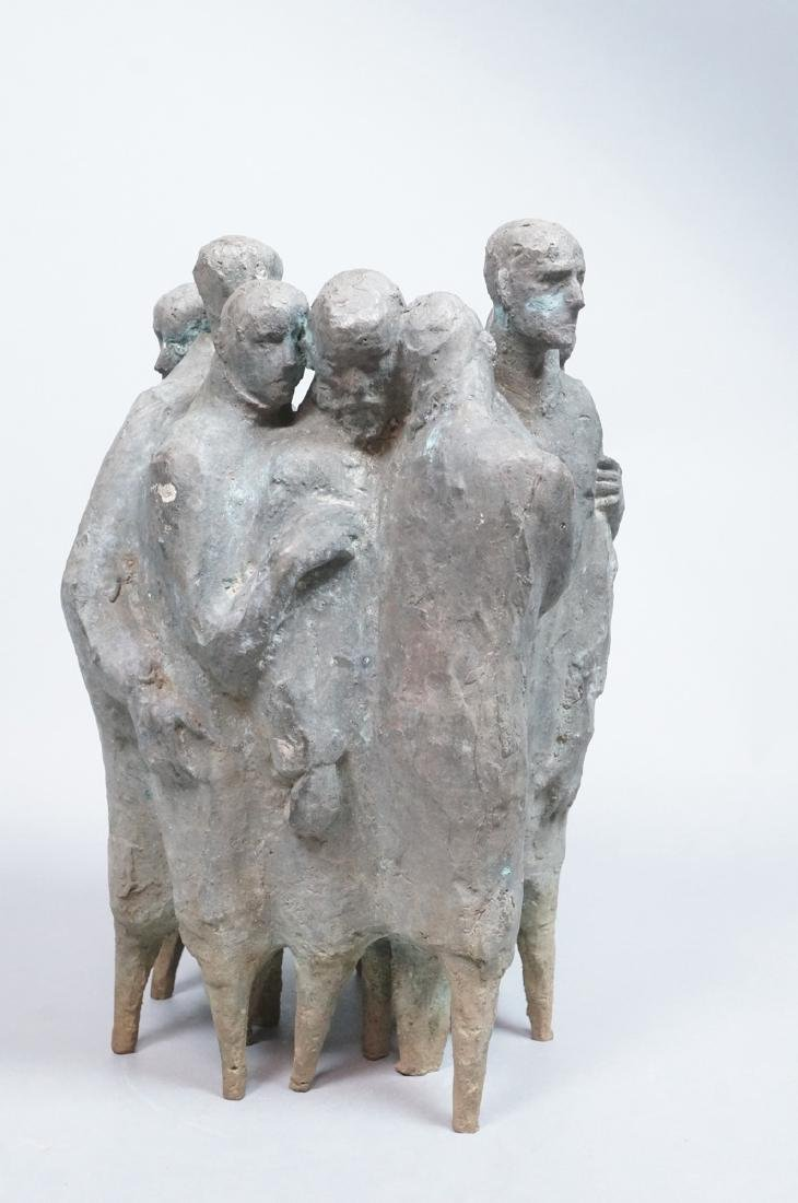Nat Neujean Bronze Sculpture - Deportation - 2/6 - 2