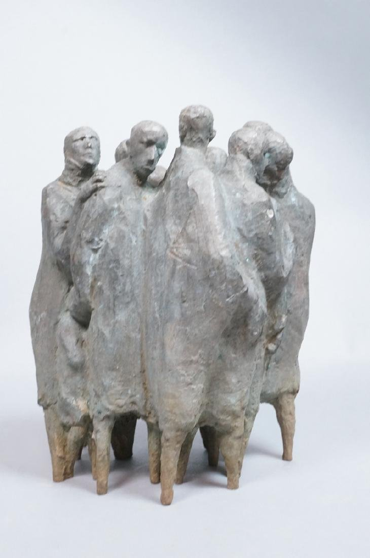 Nat Neujean Bronze Sculpture - Deportation - 2/6 - 3