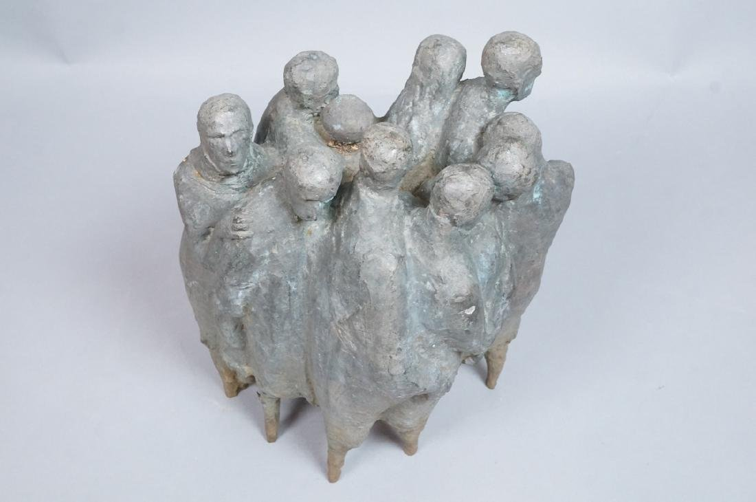 Nat Neujean Bronze Sculpture - Deportation - 2/6 - 4