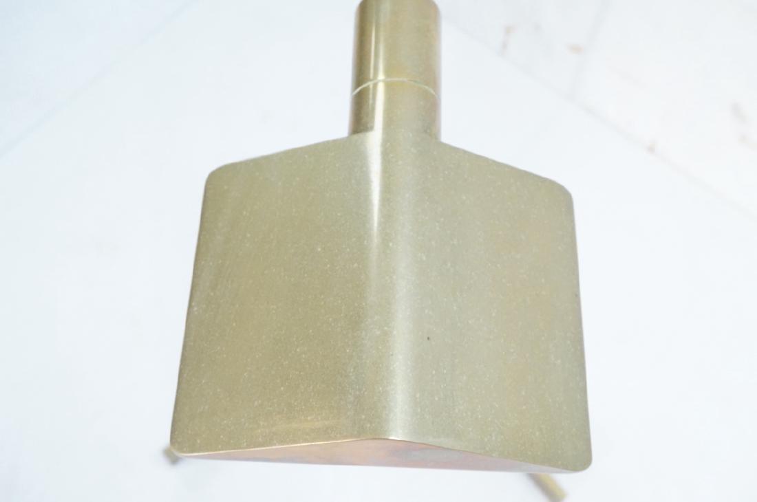 Pr CEDRIC HARTMAN Brass Corner Floor Lamps. Moder - 4